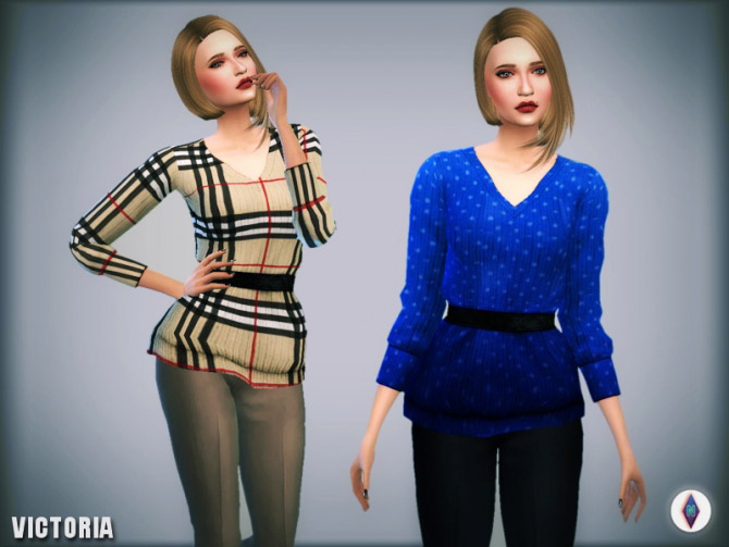 d7fc4ab253b6 Sentate s Victoria Jumper Re-textured Re-Colored - The Sims 4 Catalog