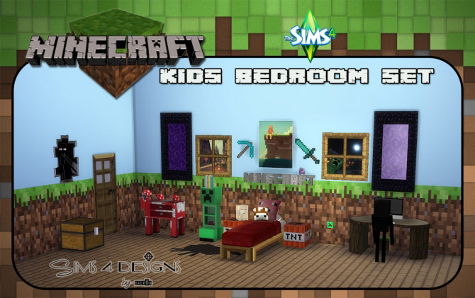 Amazing Minecraft Kids Bedroom