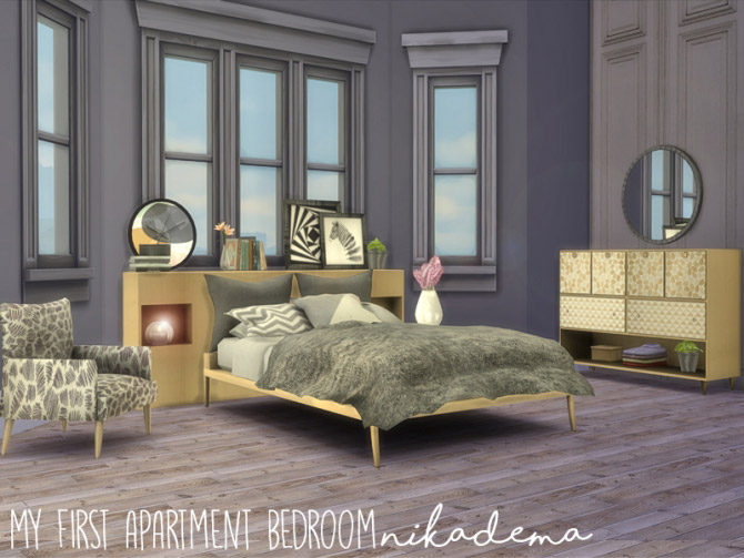 My First Apartment Bedroom - The Sims 4 Catalog