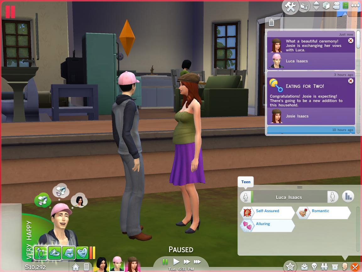 sims 3 mobile how to get married