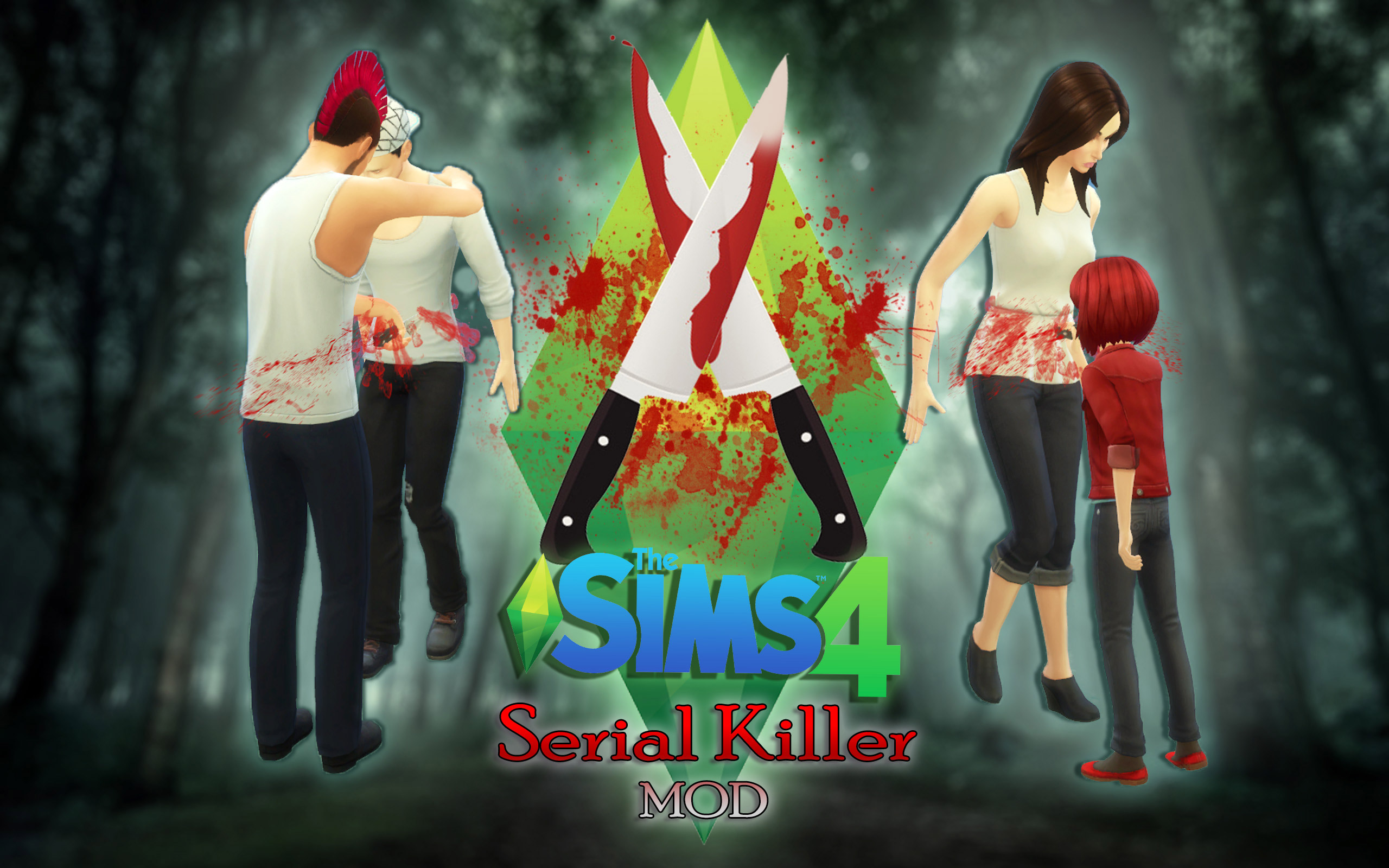 Serial Killer Murder MOD - The Sims 4 Catalog