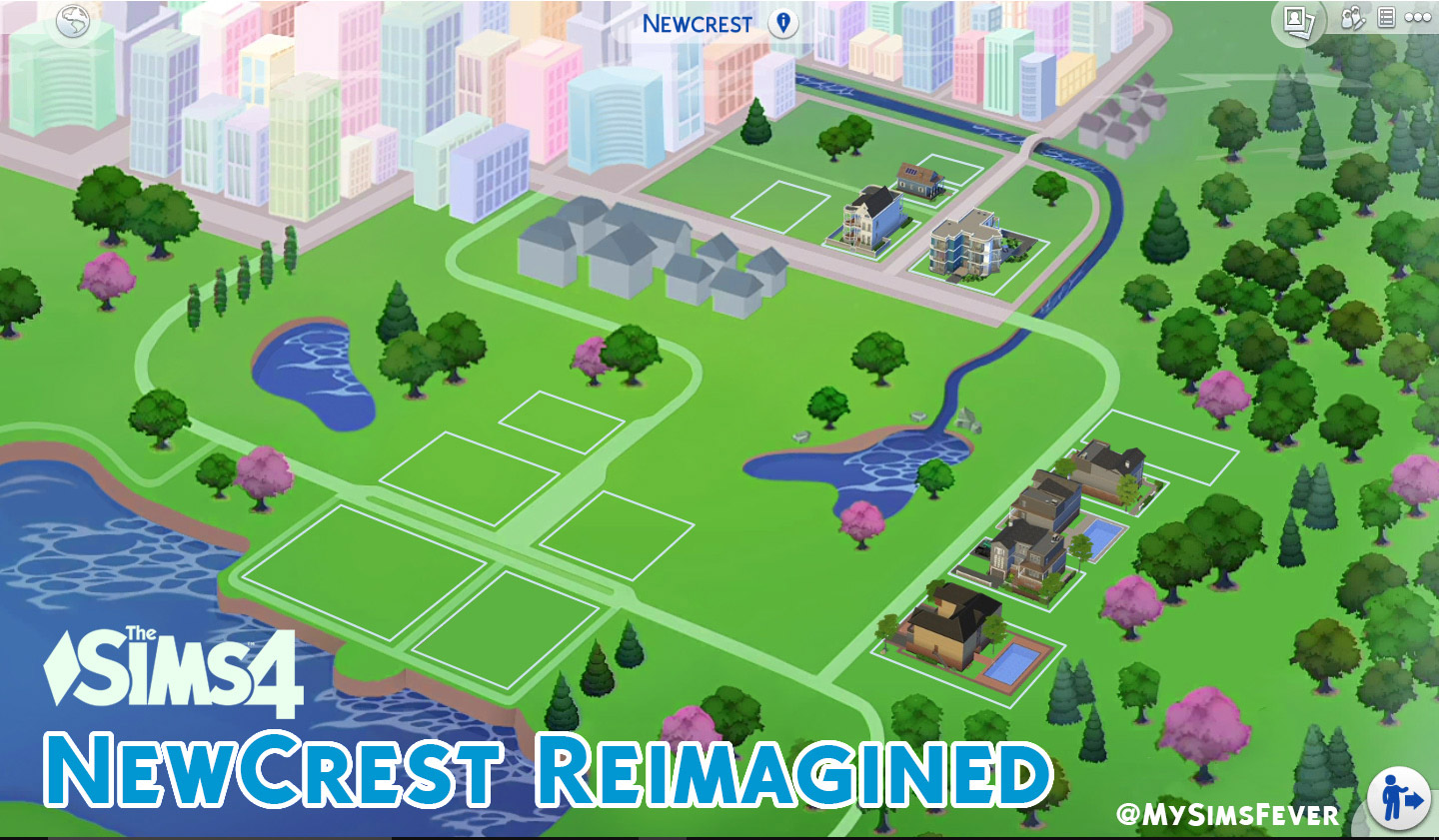 Newcrest Map Reimagined (Override) - The Sims 4 Catalog on sims castaway, sims 3 houses, sims 3 university life cover, sims 3 yacht, sims 3 map, sims 3 zombie apocalypse, sims 3 sunlit tides, sims 3 mods, sims 3 train, sims 3 world's best, sims 3 weather, sims medieval map,
