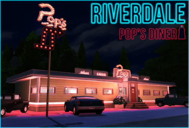 Riverdale Pop S Diner The Sims 4 Catalog