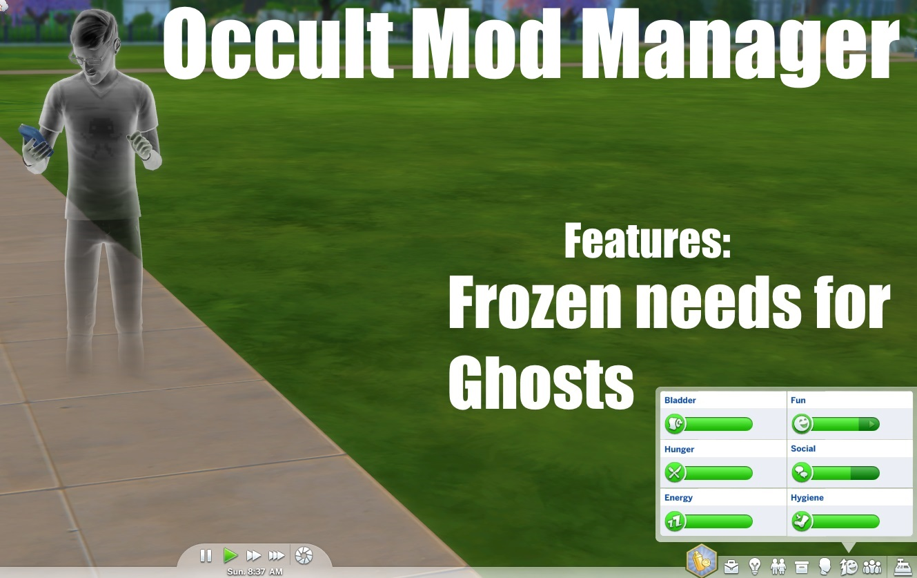 Occult Mod Manager - The Sims 4 Catalog