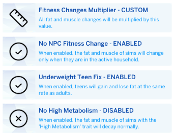 Fitness Controls - The Sims 4 Catalog