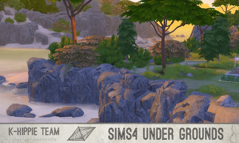 303 Terrains Replacement - ALL Worlds - The Sims 4 Catalog