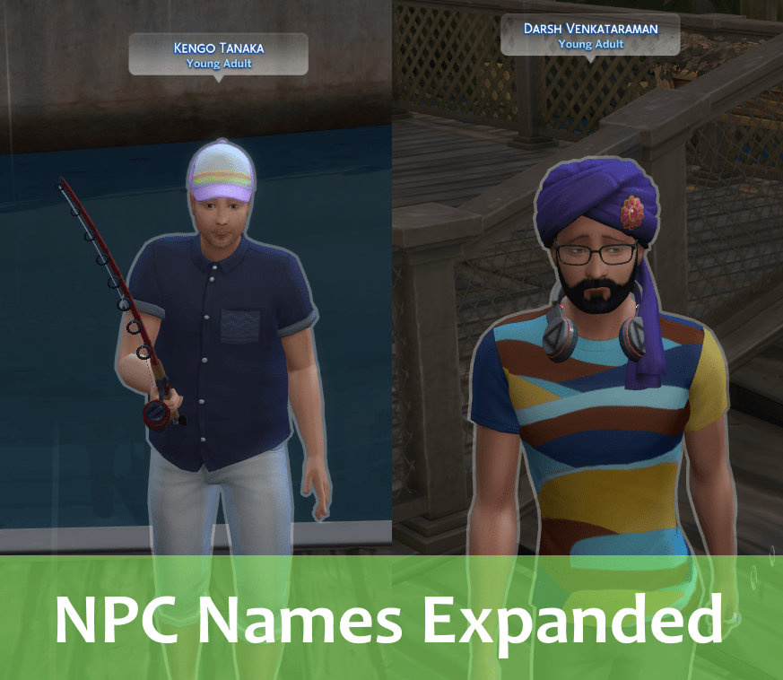 NPC Names Expanded - The Sims 4 Catalog