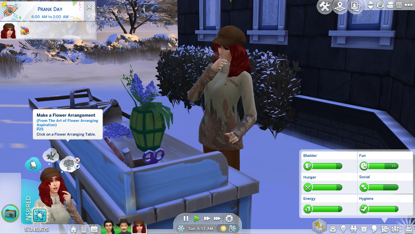 The Art Of Flower Arranging The Sims 4 Catalog