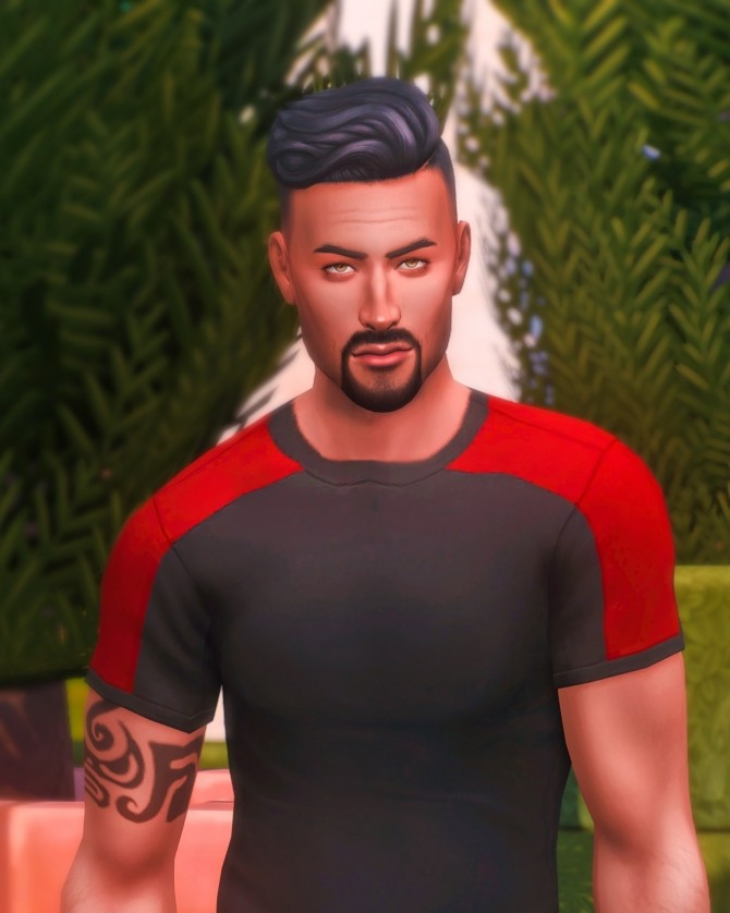 Townie Makeover Don Lothario at Katverse - The Sims 4 Catalog