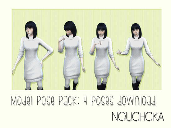 Model pose pack  - The Sims 4 Catalog