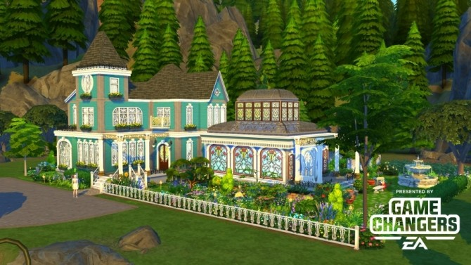Ilverly house by Bloup at Sims Artists - The Sims 4 Catalog