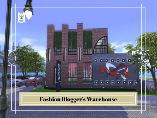 Fashion Blogger S Warehouse The Sims 4 Catalog