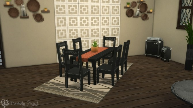 African Living Room at Sims 4 Diversity Project - The Sims 4 ...