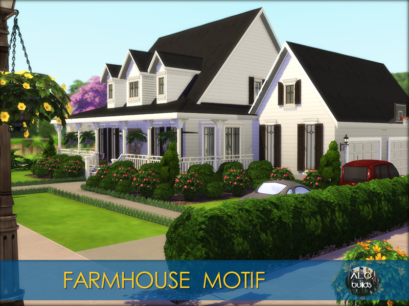 Farmhouse Motif The Sims 4 Catalog