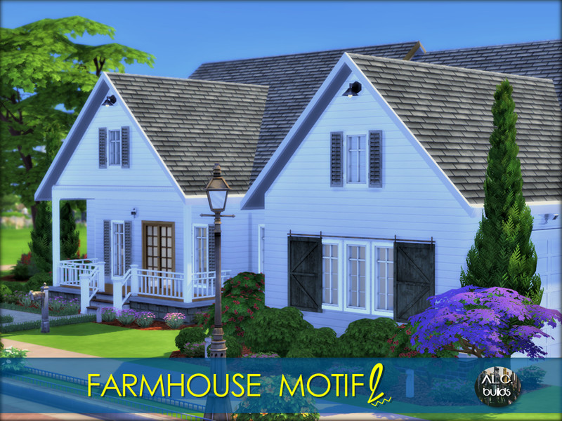 Farmhouse Motif 2 The Sims 4 Catalog