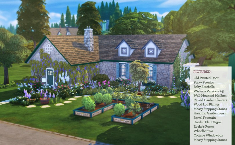 Cottage Garden Stuff for Sims 4 - The Sims 4 Catalog