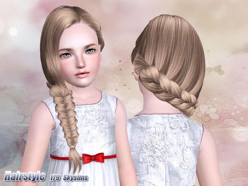 Skysims Hair Child 179