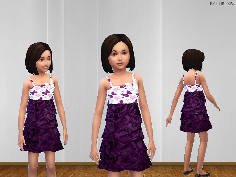 Puresim's Fluffy Dress