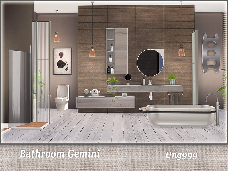453k members in the thesims community. Bathroom Gemini - The Sims 4 Download - SimsDomination