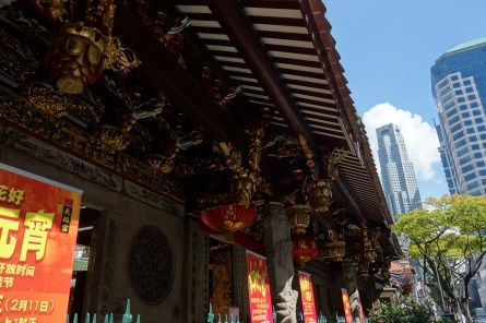 A Taoist Temple in China Town