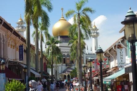Masjid Sultan Mosque in Kampor Glam