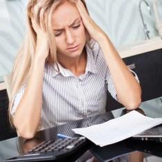 The Single Mom Blog - Welfare Hostage, stressed over money