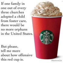Starbucks Christmas Cup - The Single Mom blog