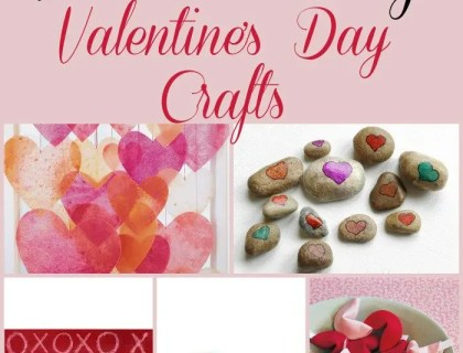 5 Fun and Easy Valentine's Day Crafts