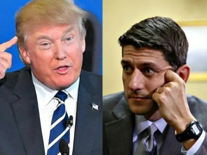 Trumpcare bill pulled before the vote. Trump and Paul Ryan couldn't get their horrific bill passed even with a Republican congress