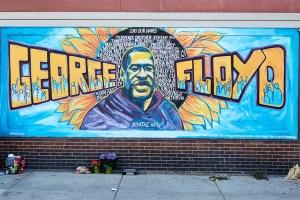Artists honor George Floyd - The Single Mom Blog - Racism