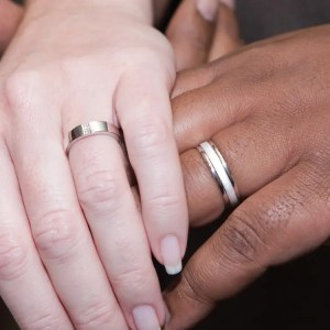 Interracial wedding hands - The Single Mom Blog - Racism