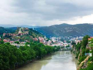 Tbilisi, the Georgian capitial