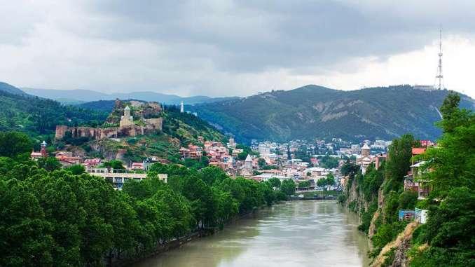 Tbilisi, the Georgian capitial