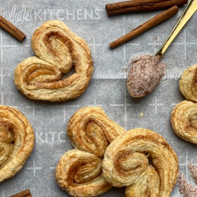 A Recipe For Palmiers