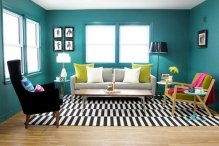 http://sapiense.com/fabulous-teal-living-room-theme/teal-living-room-rectangle-white-black-stripe-pattern-wool-area-rugs-frey-fabulous-fabric-sofa-teal-living-room-design-ideas-and-color-combinations/