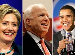 Clinton McCain Obama