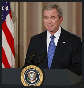 George Bush Farewell