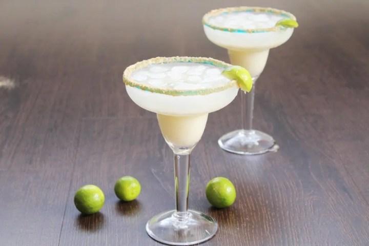 Key Lime Margarita for Happy Hour