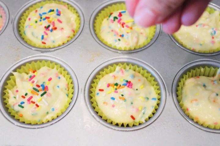 More Sprinkles Before Baking