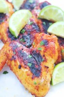 Baked Tequila Lime Chicken Wings