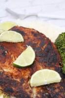 Blackened grouper fillets