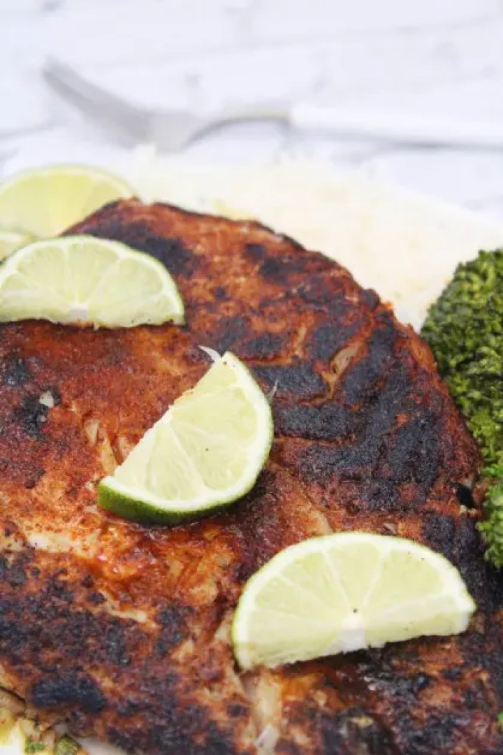 Blackened Grouper Gish Recipe