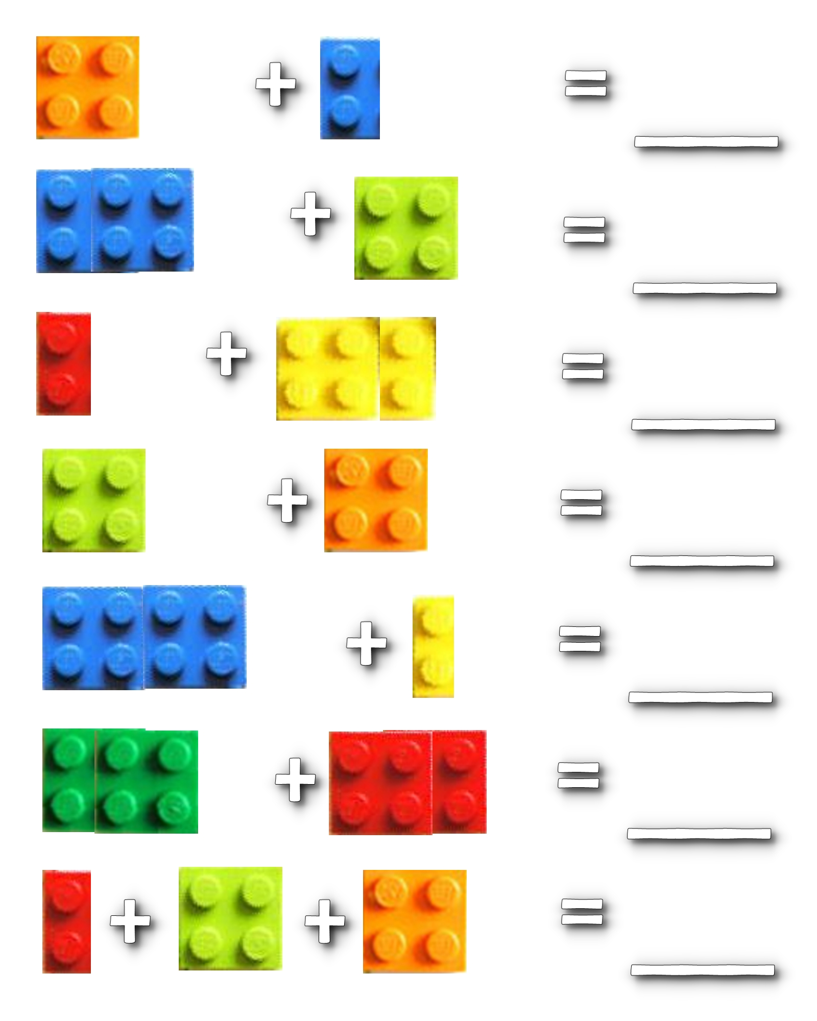 Lego Math School Planning