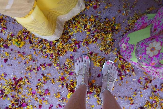 Haldi flowers