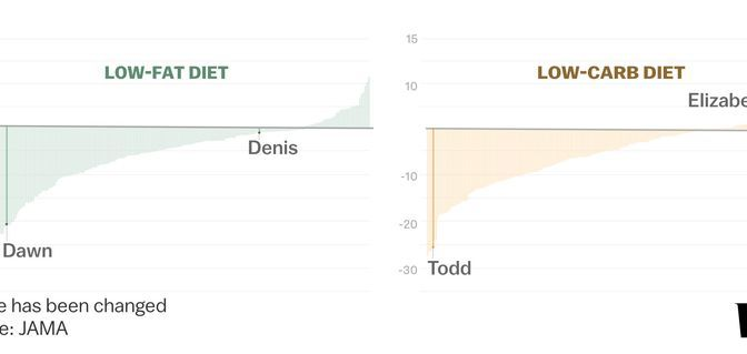 "Low-Fat Versus Low-Carb Diet: DIETFITS Show Both Can Work If They Are ""Healthy"""