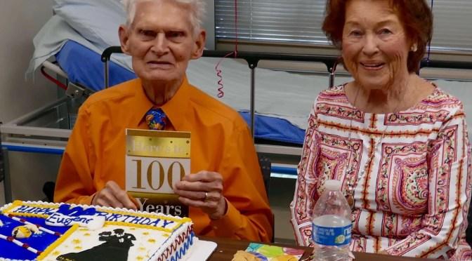 Upon Reaching The Century Mark, Eugene Shares His Keys To Longevity