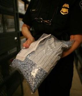 counterfeit viagra large bag police seized