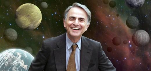 carl sagan smiling planets
