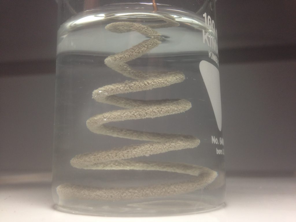 Demonstration: Silver Tree And The Reactivity Series   The