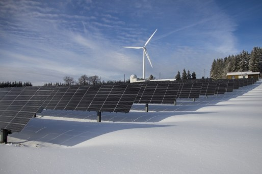 solar power wind renewable energy